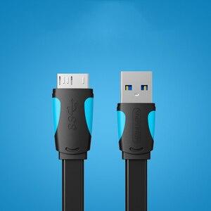 Image 4 - 1 メートル/1.5 メートル/2 メートル高速スピード Usb 3.0 タイプ a マイクロ B ケーブル USB3.0 データ同期コード外部ハードドライブのディスク、 Hdd サムスン Note3