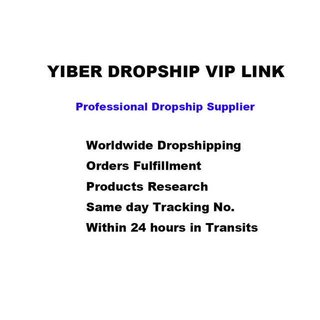 YIBER DROPSHIP VIP enlace para MO001 # GT