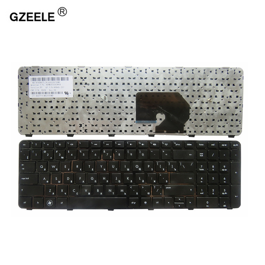 GZEELE FOR HP Pavilion DV7-6100 DV7-6200 DV7-6000 Dv7-6152er RU Hpmh-634016-251 639396-251 634016-251 Russian Laptop Keyboard RU