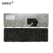 GZEELE для HP Pavilion DV7 6100 DV7 6200 DV7 6000 RU dv7 6152er 639396 251 634016 251 русская клавиатура для ноутбука