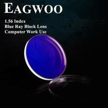 1.553 Index Asferische Blu Ray UV400 voor Computer Gebruik Anti Straling Hars Optische Recept Lenzen Bijziendheid/Verziendheid/Presbyopie