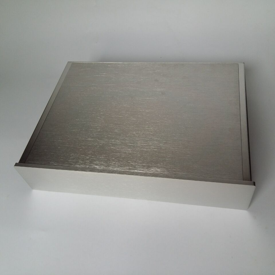 B-011 QUEENWAY 4309 All silver CNC All aluminum Chassis Case Box 430mm*90mm*311mm 430*90*311mm