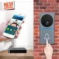 2019 neue Design WiFi Video Türklingel Batterie Powered Smart Tür Glocke Kamera Smartphone APP Steuerung Drahtlose WiFi Video Tür Telefon