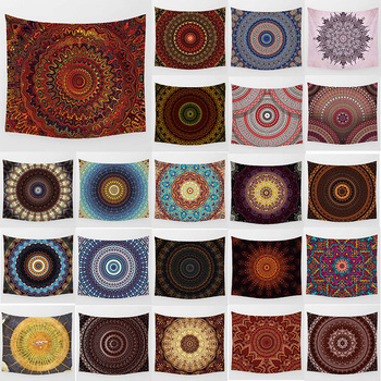 Hot sale beauty hd printing tapestry mandala  flowers large  wall hanging tapestry home decoration wall tapestry hot sale large adventure theme wall hanging tapestry home decoration wall tapestry tapiz pared 1750mm 1750mm