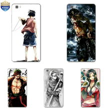 For Huawei P8 Lite 2017 Phone Case For Huawei P8 Shell For 5.2 Inch Huawei Honor 7 / Honor 7i Cover Soft TPU One Piece  Painted