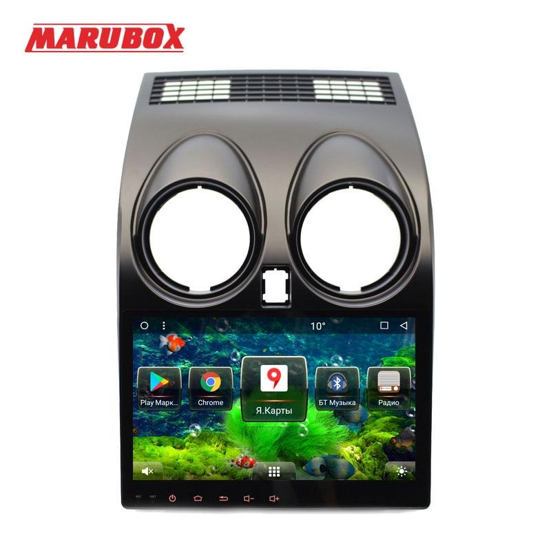 MARUBOX Новый Системы 2Din Android 7,1 для Nissan Qashqai Dualis 2007 2008-2014 Автомобильный мультимедийный плеер 9 ips сенсорный экран радио gps