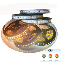 High brightness CRI +80  2835 led diode strip light DC 12 V 24V flexible light stripe 5m 600 LED tape lights & lighting