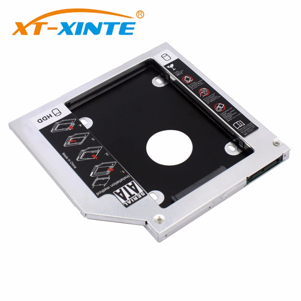 12.7mm SATA 3.0 2nd 2.5 inch Hard Drive HDD SSD Enclosure Caddy For 2.5'' DVD CD-ROM Hard Disk Case 2TB for Lenovo Optical Bay