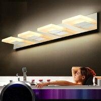 зеркальный светильник для макияж Светодиодный зеркало лампа для ванной Крытый парниковых освещения потолка светодиодный свет для дома сто