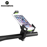 ROCKBROS Bike Bicycle Phone Stand Ciclismo Handlebar Adjustable Cellphone Mount Cycling Cycle Holder Bracket Universal