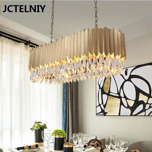 Luxury K9 Crystal Chandelier Gold Shine Living Room Lamp Hotel