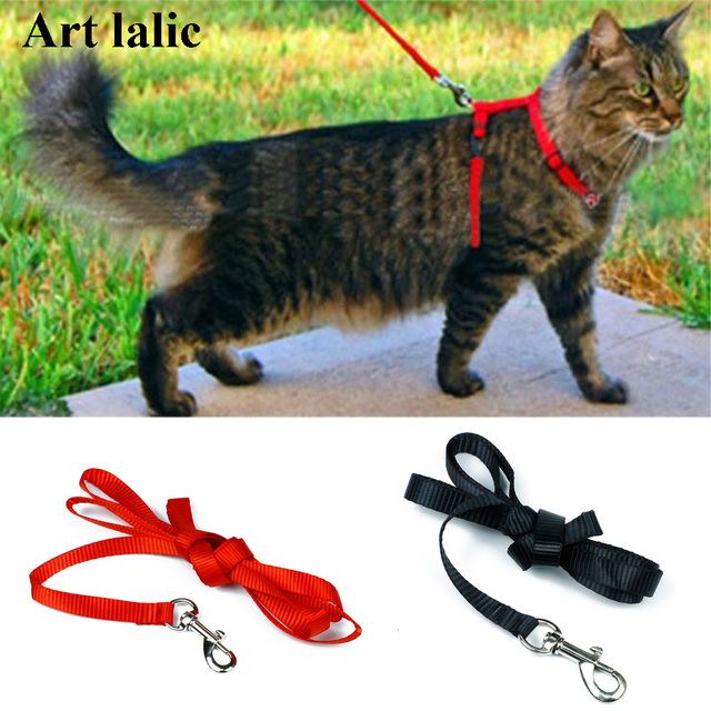 Nylon Cat Harness And Leash