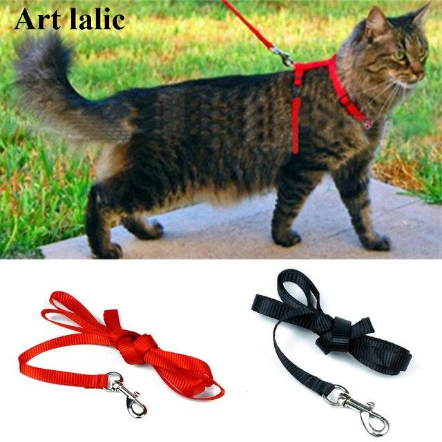 Cat Harness E Guinzaglio Vendita Calda 3 Colori Prodotti di Nylon per Gli Animal