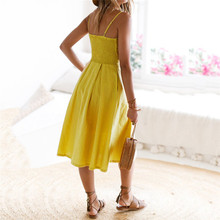 Hollow Out dress women summer sexy sleeveless dress women elegant big size casual A line dress vestidos mujer 2018 verano 40dc17