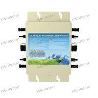 5 шт. 1200 Вт Водонепроницаемый Grid Tie Инвертор постоянного тока 24 В к AC 110 В MPPT Функция MC4 разъем