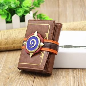 Image 5 - Hearthstone logo wallet Game Hearthstone  Package Region free  Wallet purse  Short Wallet for men Fashion Leisure