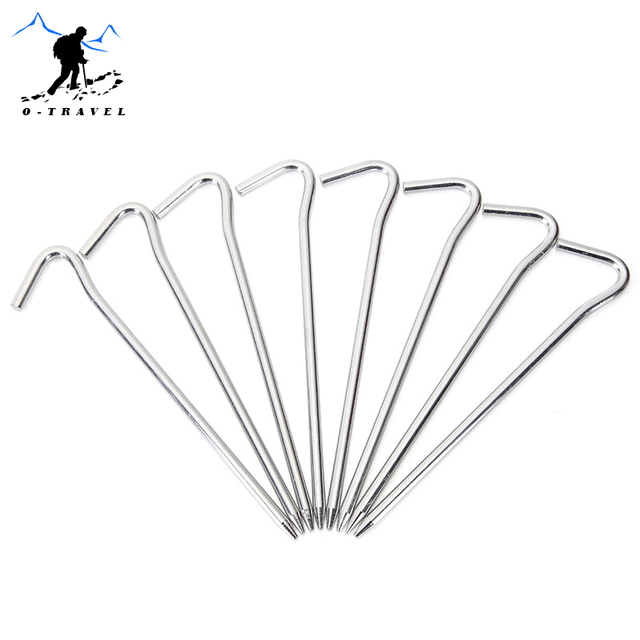 2pcs/set Outdoor Tent Nail Aluminum Alloy C&ing Hiking Tent Pegs Stake Outdoor Beach Tent  sc 1 st  AliExpress.com : beach tent pegs - memphite.com