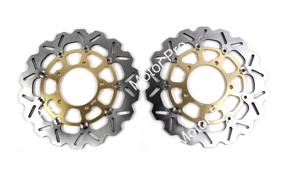 Front Brake Disc For Suzuki GSXR 1000 2005 - 2008 Brake Disk Rotor Motorcycle Parts GSXR1000 GSX R GSX-R 600 750 2006 2007 Gold
