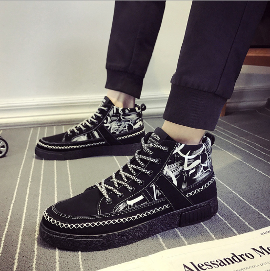 K8M 2018 shipping New Spring Summer Canvas Shoes Low top Black free shipping
