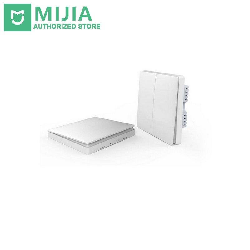 imágenes para Xiaomi aqara inteligente domótica zigbee inalámbrica clave y de interruptor de pared de control de luz a través de app remoto app by mijia smarphone