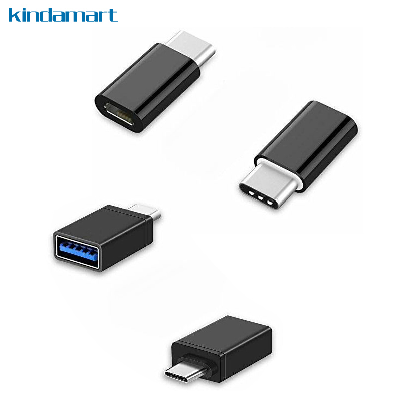 usb c type c adapter otg usb c to micro usb to usb 3 0 adapter for macbook pro chromebook pixel. Black Bedroom Furniture Sets. Home Design Ideas