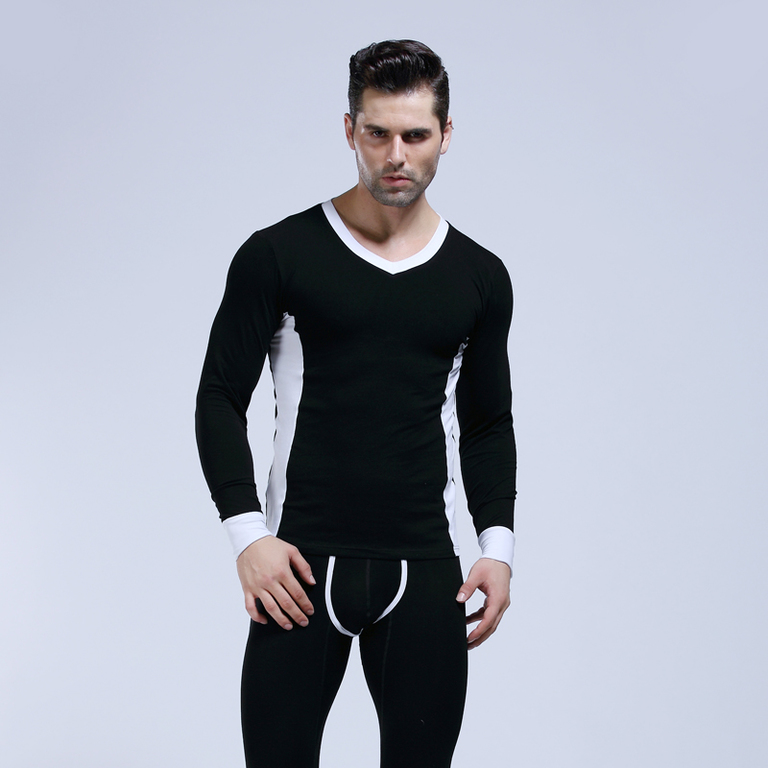 Hot Winter Mens Warm Thermal Underwear Mens Long Johns Sexy Thermal Underwear Sets Thick Stretch Long Johns For Man