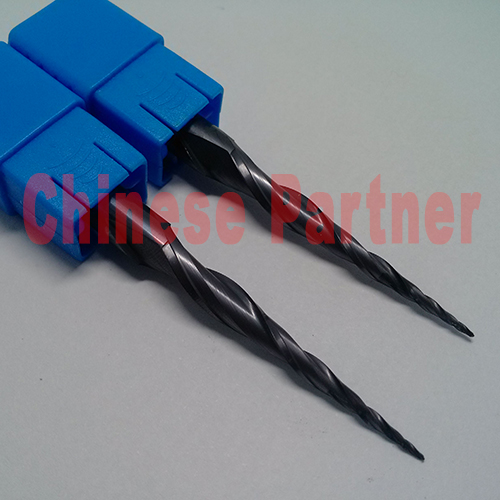 2pc/lot R0.5*D8*45*85*2F HRC55 Tungsten solid carbide Taper Ball Nose End Mill milling cutter cnc router bit wood knife tool hrc55 r0 2 r0 5 r0 75 r1 0 r0 72 taper ball end carbide tungsten solid steel milling cutter alloy taper endmill