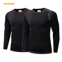 WOSAWE Men's Winter Fleece Thermal Motocross Underwear Undershirt Ski Cycling Long Johns Top Shirts Warm Motorcycle Base Layers winter warm outdoor sports thermal underwear set polartec long johns men women thermal underwear top pants cycling base layers 4