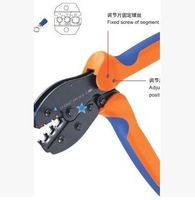 Terminal Pliers Cold Press Terminal Clamp Ratchet Wire Clamp Europe Type