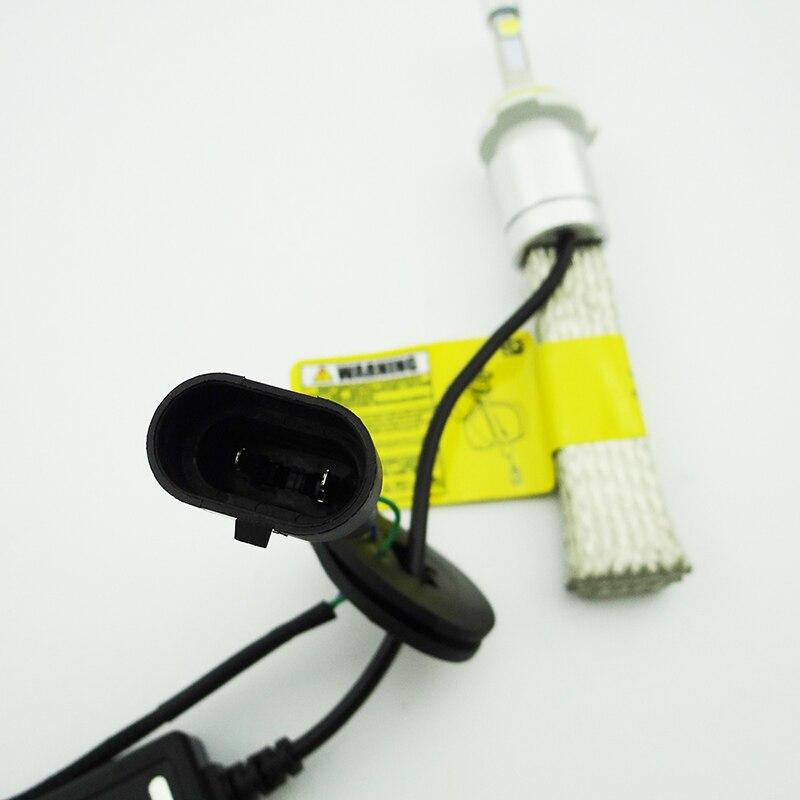 80W 9600LM 6500K Warning Lights H4 H11 H13 9005/HB3 9006/HB4 H7 Led Car Headlight Kits Dipped Beam & High Auto LED Fog Lam