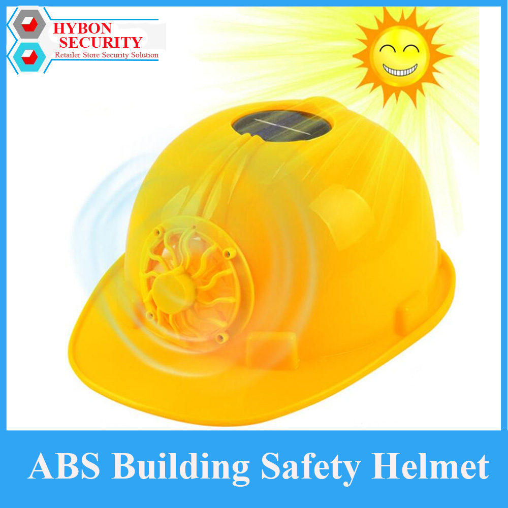 HYBON casquette securite Construction Safety Helmet Hard Hat Safety Helmet Motocycle Helmet Solar Powered with Cooling Fans classic solar energy safety helmet hard ventilate hat cap cooling cool fan delightful cheap and new hot selling