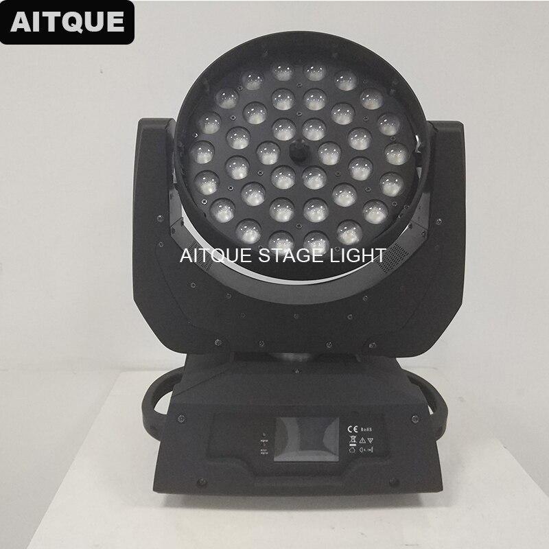 6 מארז סין נבל לשטוף 36x15 w הזזת ראש האור לשטוף 36x15 led לשטוף הזזת ראש זום