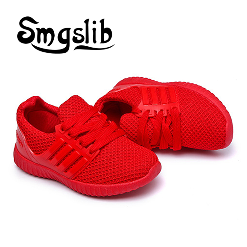 kids shoes Children knitted fabric breathable running shoes Mesh Casual Girls Shoes Girls Boys Sport Shoe Non-slip Kids Sneakers