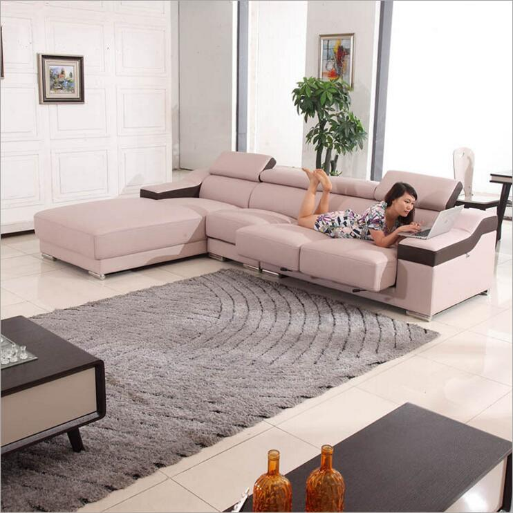 Modern Style  Living Room Genuine Leather Sofa A1313