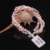 [MeiBaPJ] Natural misto de cor pérola pulseira artesanal puro pulseira de pérolas de Água Doce real com 925 fecho de prata fine jewelry