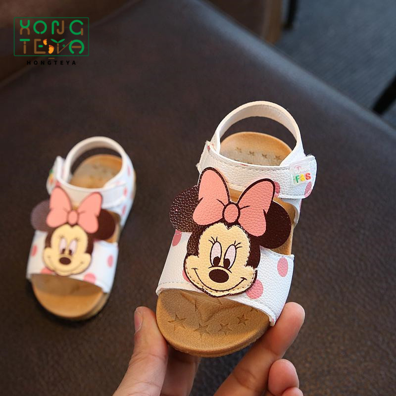 2019 1-2-3 Years Old baby Girls summer Sandals PU Leather Shoes Cute Cartoon Bebe Girls soft bottom princess shoes2019 1-2-3 Years Old baby Girls summer Sandals PU Leather Shoes Cute Cartoon Bebe Girls soft bottom princess shoes