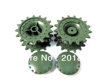 Henglong 3878-1 KV-1 tank plastic sprockets/driving wheels of 1:16 rc tank, Henglong tank plastic wheel parts accessories spare