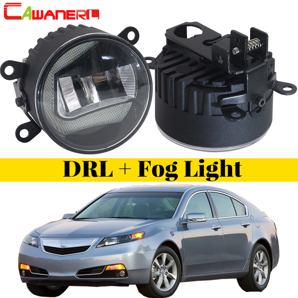 Cawanerl For Acura TL 2012 2013 2014 Car Exteral LED Fog