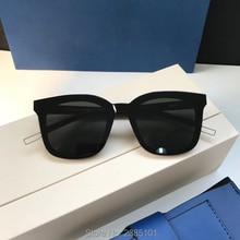 Квадратные поляризационные солнцезащитные очки Для женщин в Корейском стиле нежные дизайнерские брендовые большие одним объективом Ман Papas, женские солнцезащитные очки, очки uv400 оправа из ацетата целлюлозы