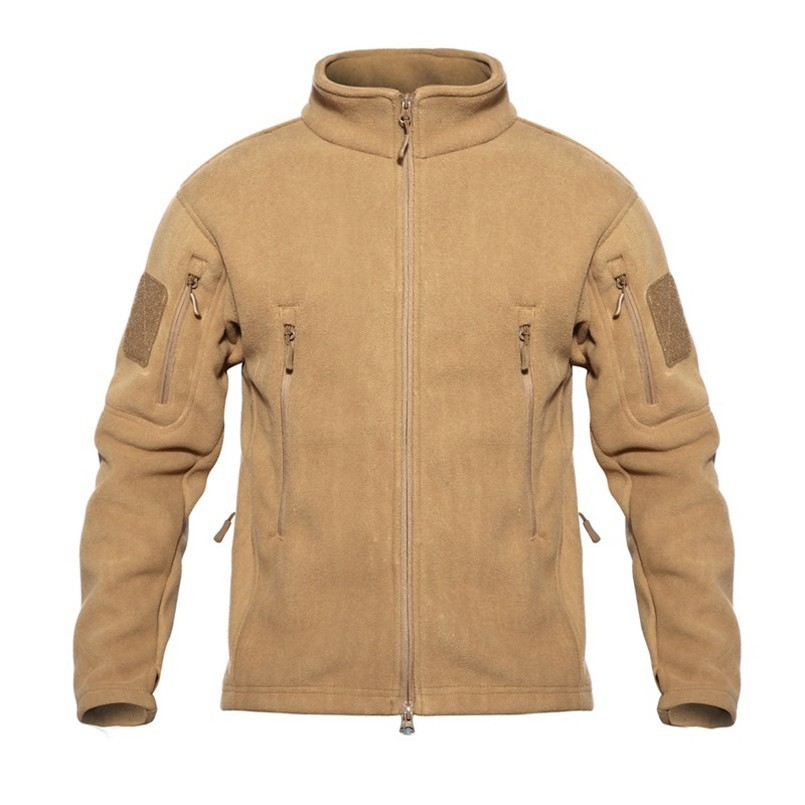 TAD <font><b>Winter</b></font> Warm Fleece Tactical <font><b>Jackets</b></font> Men <font><b>Military</b></font> Windproof Thicken Multi-pocket <font><b>Jackets</b></font> Casual Hoodie Coat Clothing image