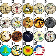 10mm 12mm 14mm 16mm 20mm 25mm 060 12pcs/lot Flower Mix Round Glass Cabochons Jewelry Findings 18mm Snap Button Charm Bracelet