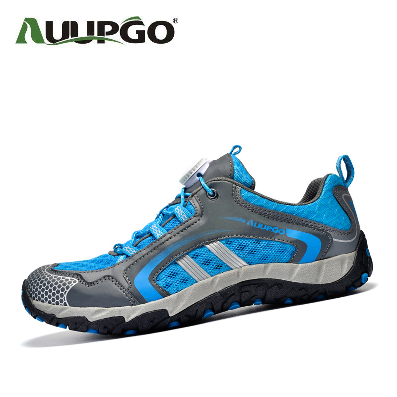 Auupgo upstream shoes women summer outdoor climbing shoes men hiking riding shoes sneakers A748
