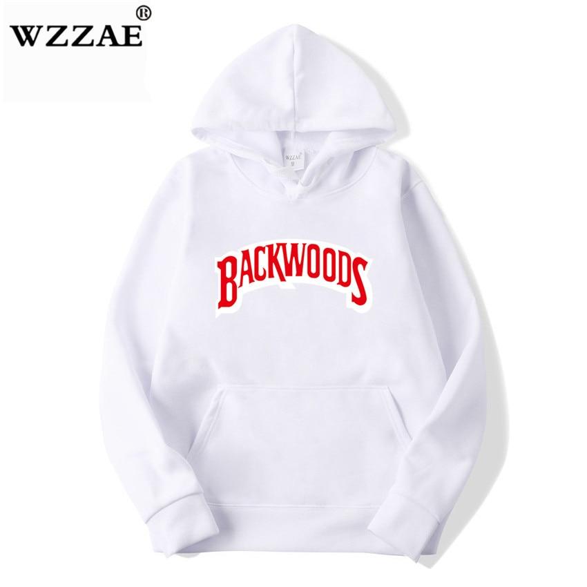 The screw thread cuff Hoodies Streetwear Backwoods Hoodie Sweatshirt Men Fashion autumn winter Hip Hop hoodie pullover Hoody 13