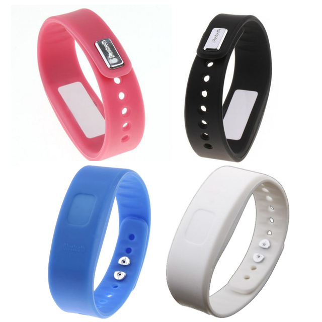 USB Bluetooth Incoming Call Vibrate Alert Alarm Anti-lost Band Bracelet lithium-ion polymer battery with LED indicator