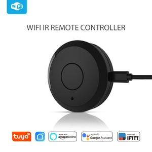 Image 3 - חכם בית אוטומציה חכם אוניברסלי WIFI + IR מתג מרחוק בקר עבודה עם אמזון Alexa הד דוט Google בית
