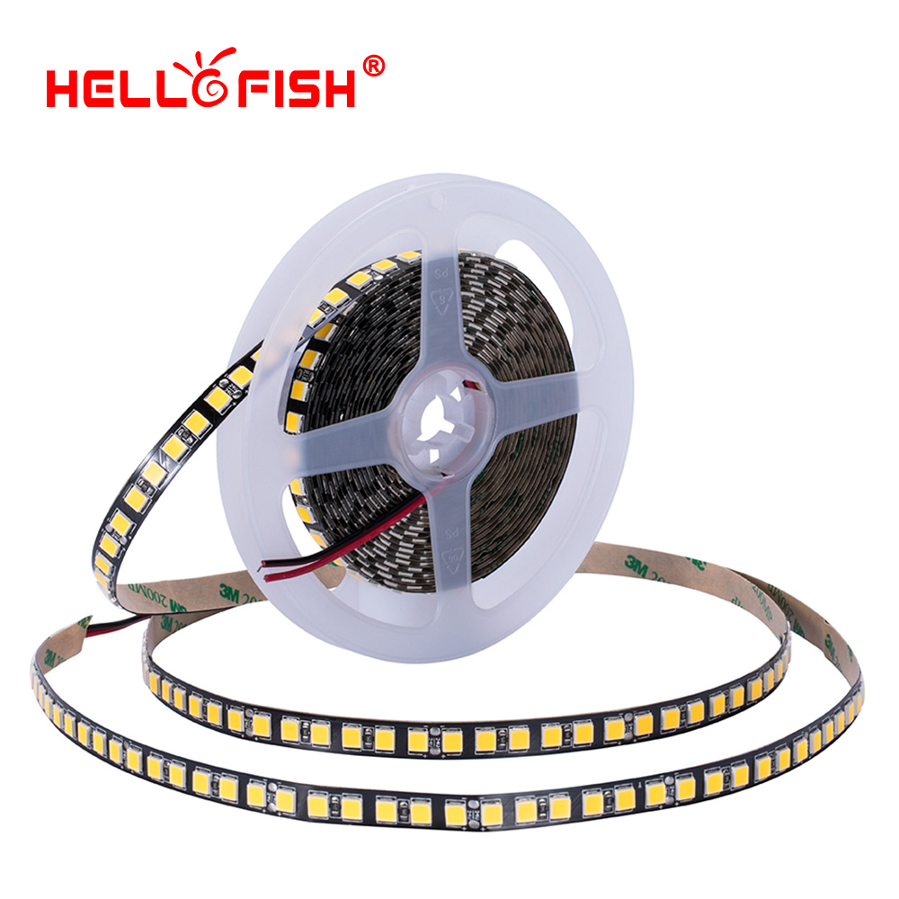 24V High brightness 5054 led diode strip light flexible light stripe 5m 120 LED tape ambient backlight Hello Fish мультиварка sinbo sco 5054