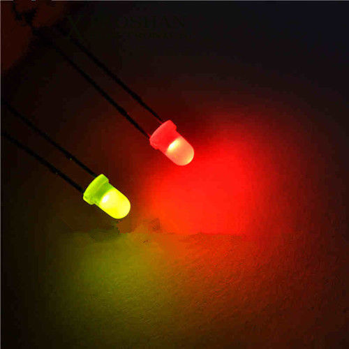 100PCS 3mm BLUE DIFFUSED LED LEDs  Bulb  Lamp Free Shipping