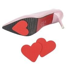 2 шт колодки для обуви протектор для подошвы Нескользящая женская обувь на высоком каблуке Подушка наклейка для переднего отдела стопы
