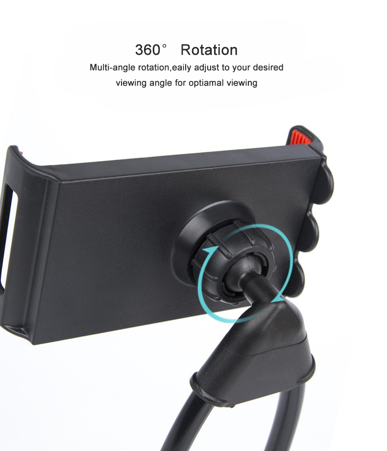 Fimilef Flexible Mobile Phone Holder Hanging Neck Lazy Necklace Bracket Smartphone Holder Stand For iPhone Xiaomi Huawei (6)