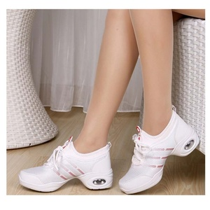 Image 4 - NANCY TINO Soft Outsole Breath Dance Shoes Women Sports Feature Dance Sneakers Jazz Hip Hop Shoes Woman Professional Dance Shoes